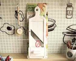 일본 시모무라 슬라이서 채칼 고급형 (두께조절,안전손잡이) 양배추칼